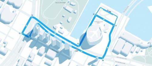 Il circuito cittadino di Downtown Miami