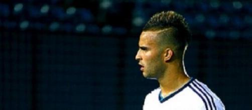 Jesé, en un partido con el Real Madrid