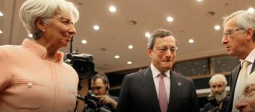 La Troika, ovvero FMI, Bce e Commissione