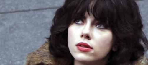"Scarlett Johansson en ""Under the skin"""