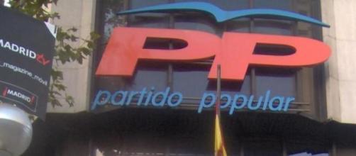 Sede actual del PP en Madrid.