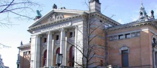 Teatro Nacional Norueguês, em Oslo.