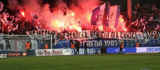 Les tribunes de Furiani (Crédit: SC Bastia)