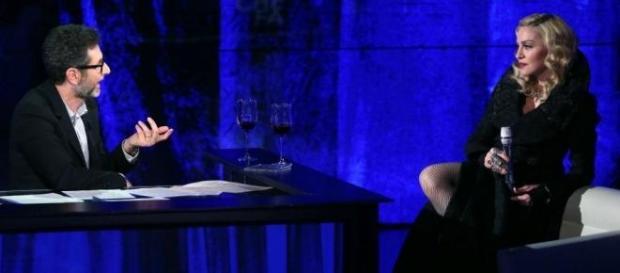 Madonna a Che tempo che fa video