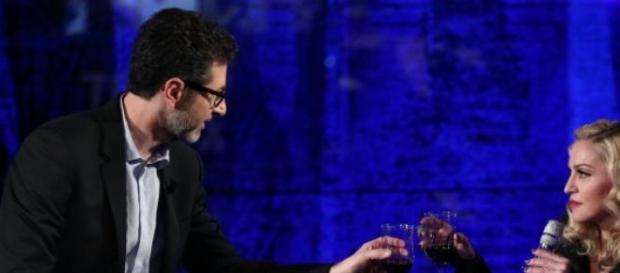 Madonna da Fabio Fazio a 'Che tempo che fa'