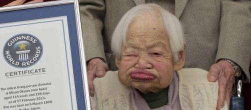 Misao Okawa si è spenta serenamente a 117 anni.