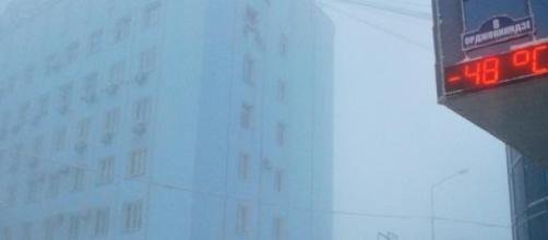 Yakutsk en imagen de archivo