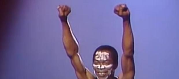 A lenda da música nigeriana Fela Kuti