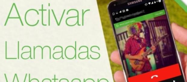 Activar Llamadas Whatsapp App timo