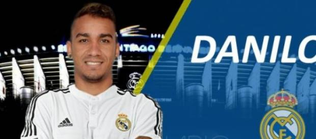 Danilo assinou até 2021 com o Real Madrid