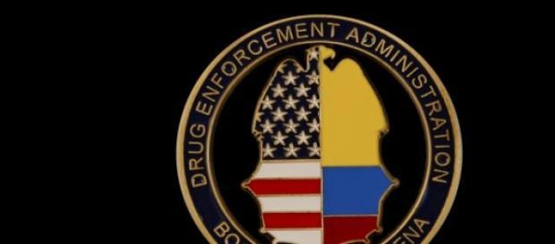 Escudo de la DEA en Colombia
