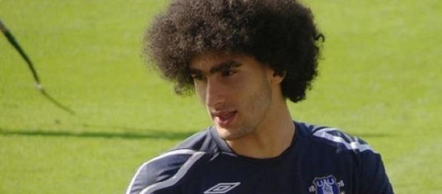 Ex-Everton man Fellaini scored Belgium's winner