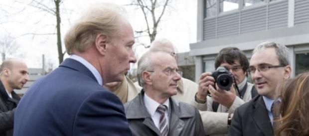 Hortefeux (à g.) est un proche de Sarkozy.