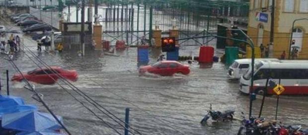 Previsão de cheia do Rio Negro em Manaus