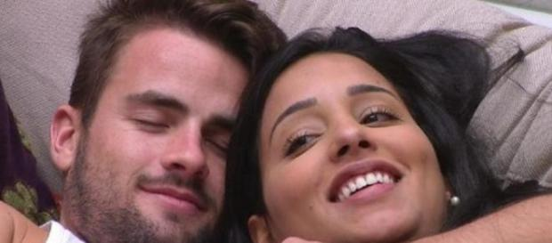 Rafael e Talita continuam juntos