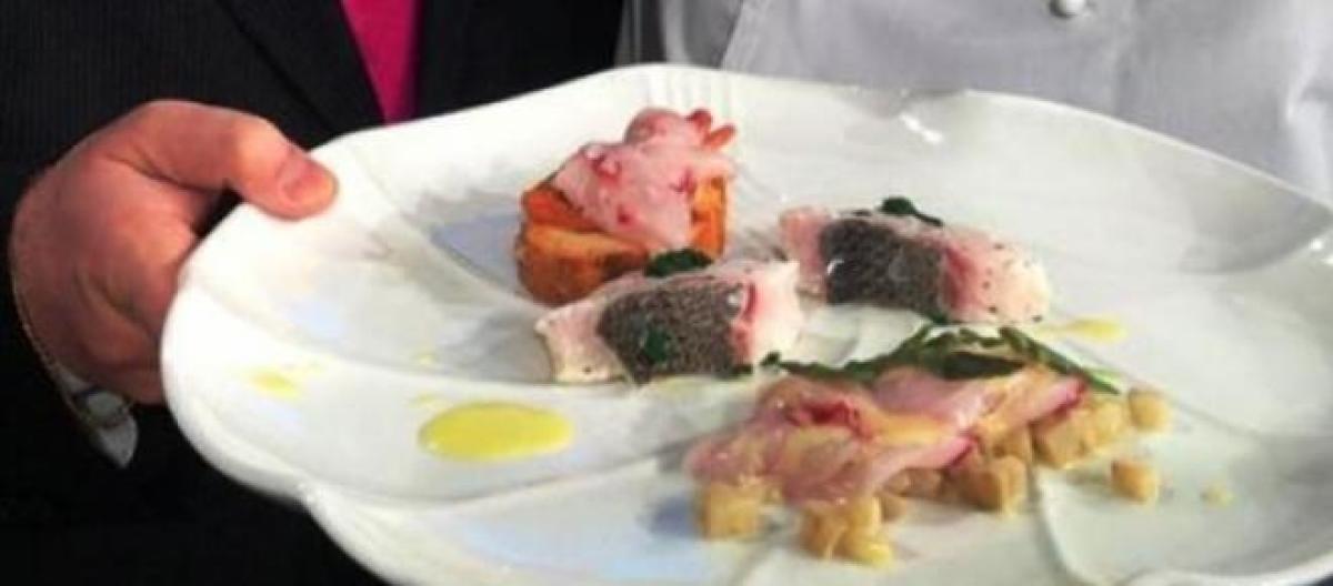 La Prova Del Cuoco Ricette 10 Aprile Crudo Di Pesce Con Asparagi E