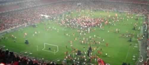 Benfica foi campeão em 2004/2005