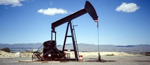 Extracção de petróleo em terra