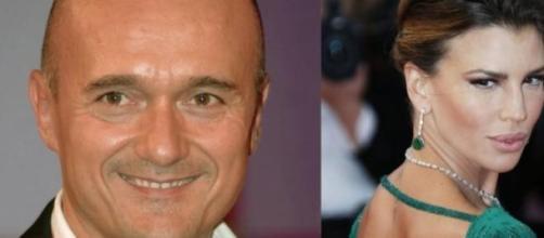 Lite social tra Signorini e Claudia Galanti.