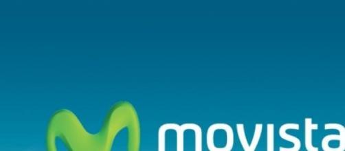 Logo de la compañía Movistar.