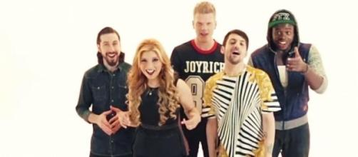 O grupo é formado por 5 cantores