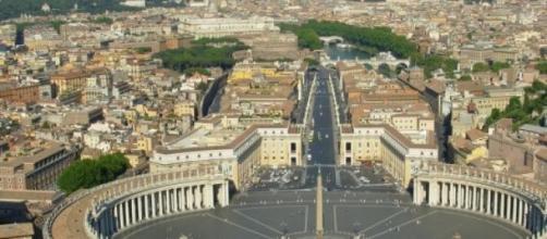 Plaza de San Pedro en El Vaticano