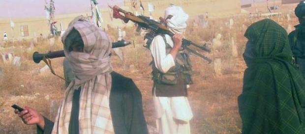 Grupo fundamentalista islâmico Taliban