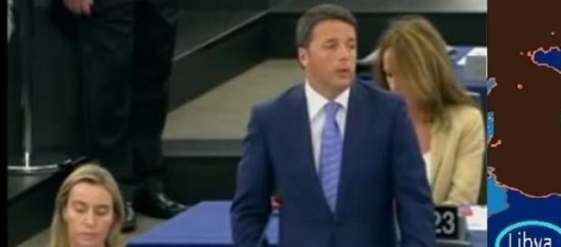 Matteo Renzi pressa l'Europa