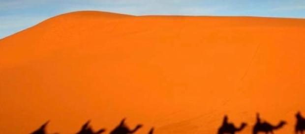 o acidente ocorreu no deserto marroquino
