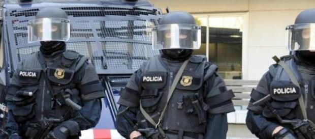 Os Mossos d'Esquadra lideraram a operação