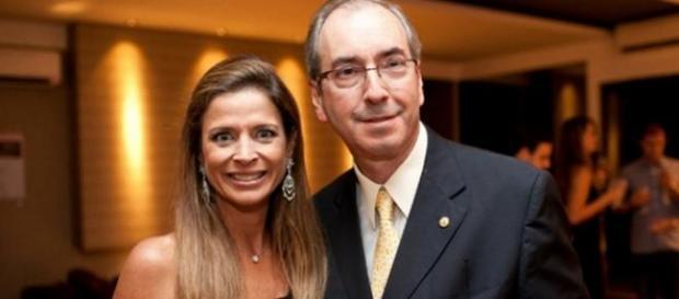 Terceirizada, mulher de Cunha ganhou ação