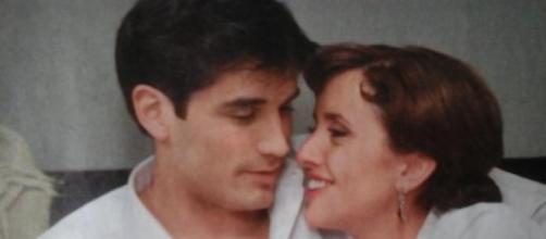 "Ana e Alfonso in una scena di ""Amare per sempre"""