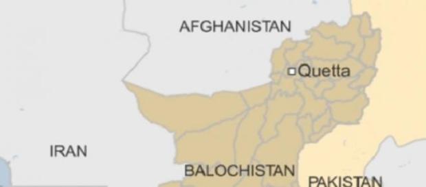 Der Angriff fand im Gebiet Belutschistan statt