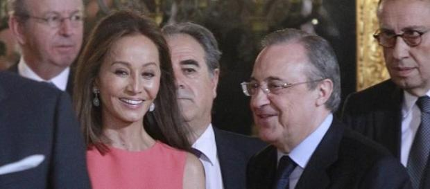 Isabel Preysler y Florentino Pérez.