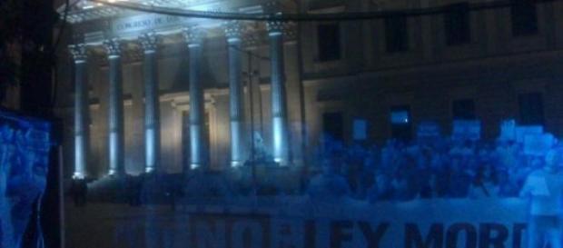 Los hologramas en el Congreso de los Diputados