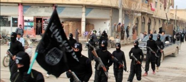Mars al militantilor Statului Islamic