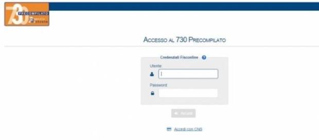 Pin Agenzia Entrate 730 precompilato primo accesso