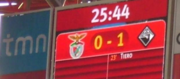 Resultado do jogo disputado a 11 de Abril de 2009