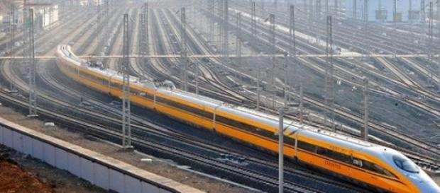 Tren de Alta Velocidad Chino