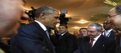 Cuba y EE.UU estrechan sus relaciones en la cumbre