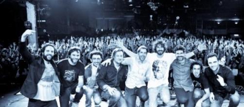 Izal en un concierto. Fuente: Página web de Izal