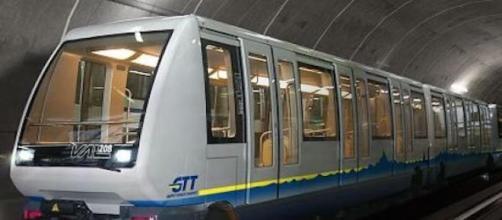 La metro di Torino, sicura e moderna.