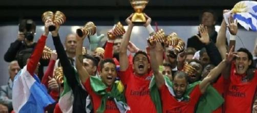 O Paris Saint-Germain conquistou o quinto título