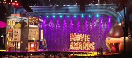 The Movie Awards set at the Nokia Theatre.