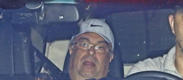 André Vargas sendo preso. Fonte: Estadão