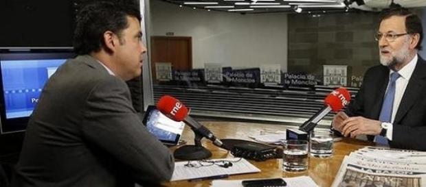 Mariano Rajoy en una entrevista sobre el suceso