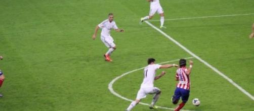 Atlético e Real jogam hoje para a Champions League