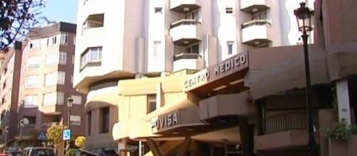 Centro hospitalario donde acudió la víctima