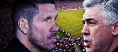I due mister Simeone ed Ancelotti