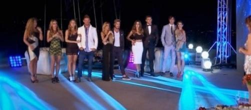 """Los finalistas de """"Amor a prueba"""" fueron al cine"""